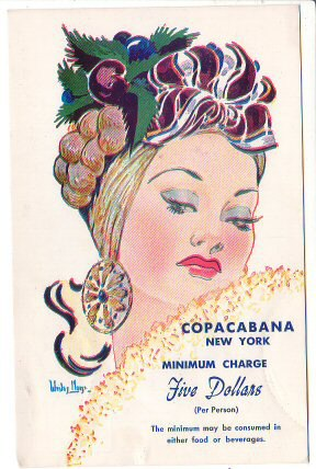 Vintage Advertising Postcard