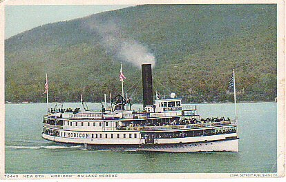 Steamboat Postcard
