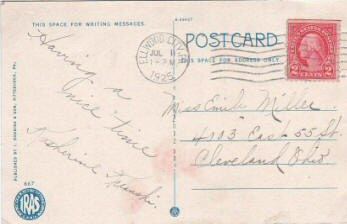 Determining the Age of Vintage Postcards